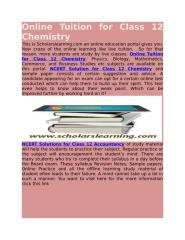 Online Tuition for Class 12 Chemistry.docx