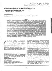 Introduction to altitude hypoxic training symposium.pdf