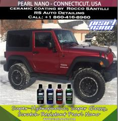 Jeep Wrangler Coated with Pearl Nano Coating by RS Auto Detailing - Connecticut, USA.ppt