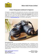 A Basic Photography Guidebook for Beginners.pdf