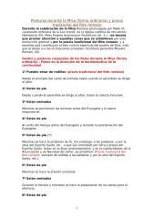 POSTURAS DURANTE LA MISA.doc