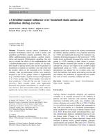 L-Citrulline-malate influence over branched chain amino acid utilization during exercise.pdf