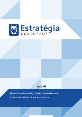 TJMG - Direito Constitucional (Aula 05).pdf