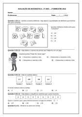 Avaliação de Matemática 3°ano.docx