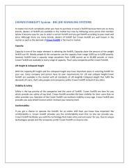 CROWN FORKLIFT System.pdf