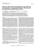 Body Fat Mass, Body Fat Distribution, and Pubertal Development A Longitudinal Study of Physical and Hormonal Sexual Maturation of Girls.pdf