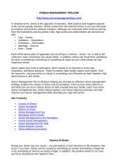 Stress Management Tips.com.doc