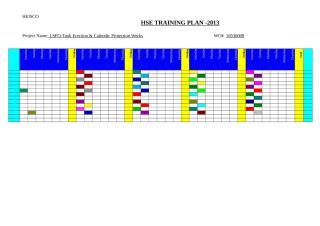 HSE Training Plan-2013.doc