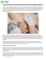 Wound_Healing__The_Potential_for_PRP_and_AntiInflammatories__Apex_Biologix.pdf