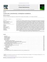 A quick look at biochemistry - Carbohydrate metabolism.pdf
