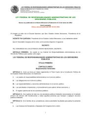 ley federal de responsabilidades administrativas de los servidores públicos.doc