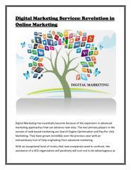 Revolution of Digital Marketing Services in Online Marketing.pdf