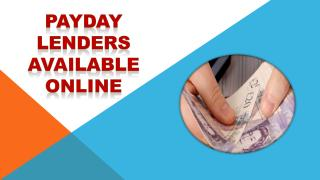 Payday Lenders Available Online.pdf