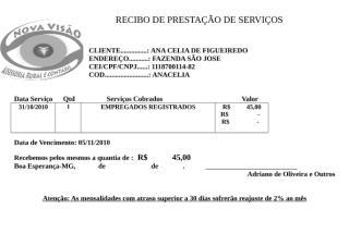 RECIBO DE PRESTAÇÃO DE SERVIÇOS 10-2010.docx