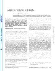 Adipocyte metabolism and obesity.pdf