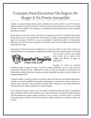 Consejos Para Encontrar Un Seguro De Hogar A Un Precio Asequible.doc