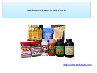 Health Supplements to Improve the Quality of Your Life.pptx