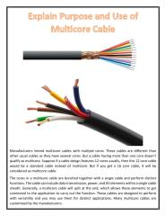 Explain Purpose and Use of Multicore Cable.pdf