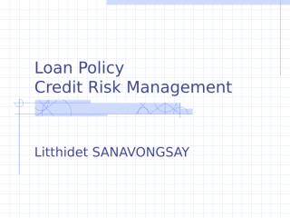 Credit Rating and Credit Policy.ppt